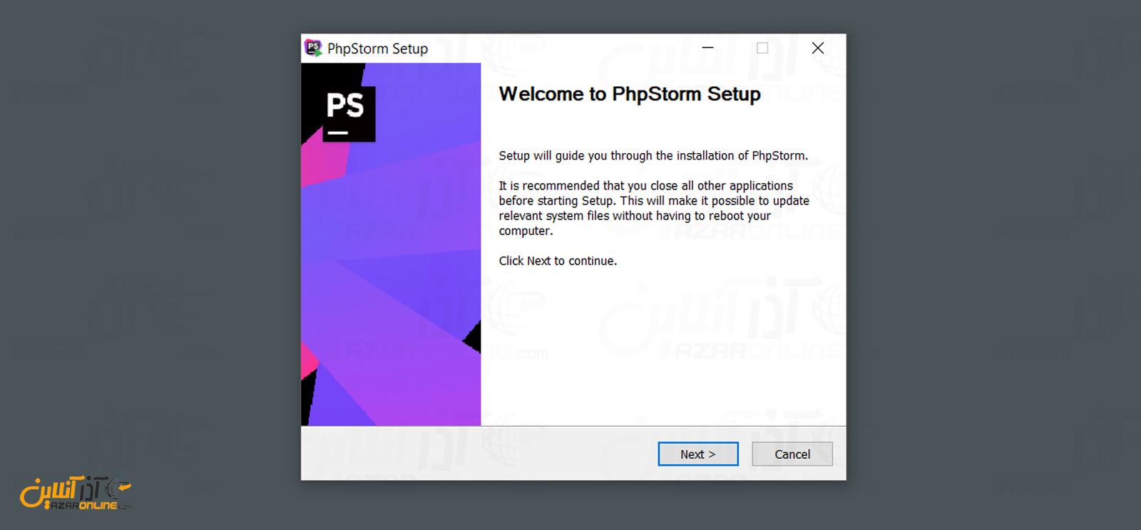 نصب phpstorm در ویندوز
